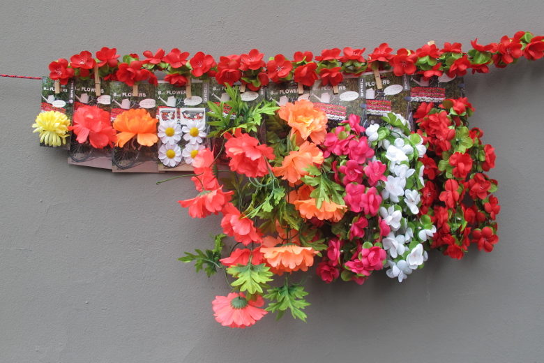 Basil Flower Garland