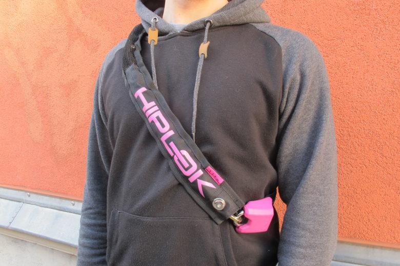 HipLok LITE schwarz/pink