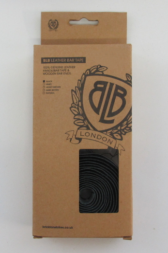 BLB Leather Bar Tape black