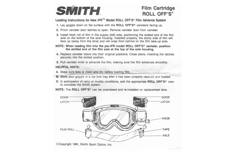 SMITH Roll Off's Cartridge