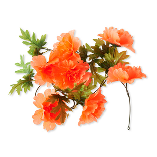 Basil Peony Flower Garland