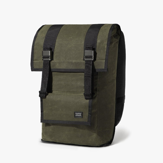 Mission Workshop The Sanction – Waxed Canvas – olive