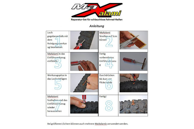 MaXalami Basic Tubeless Repair