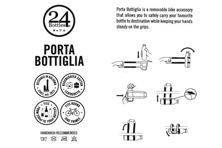Porta Bottiglia – 24Bottles – Fango