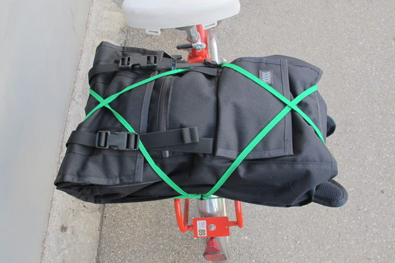 Gepäckträgergurt vierfach