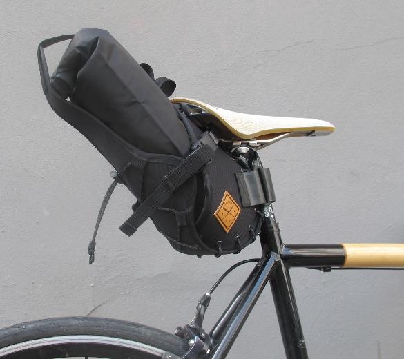 Restrap – Saddle Bar Holster with Dry Bag black – 8L