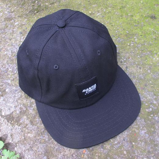 Santa Cruz Wrigley Hat Black