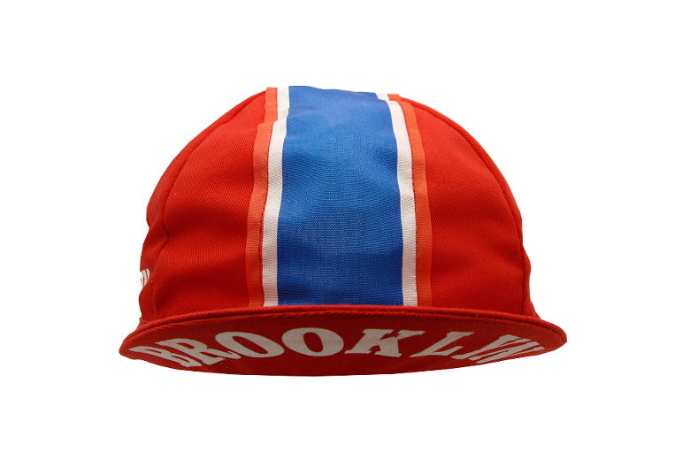 Cycling Cap Brooklyn red