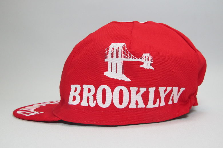 Cycling Cap Brooklyn red