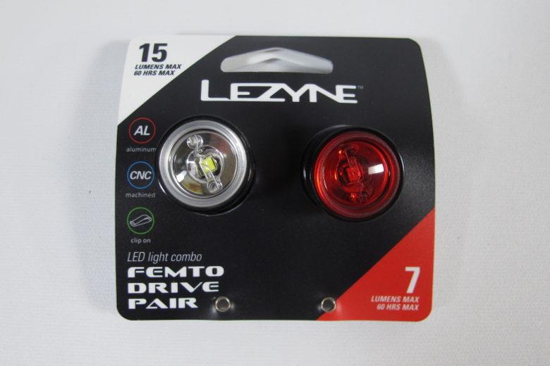 LEZYNE Femto Drive Pair Black