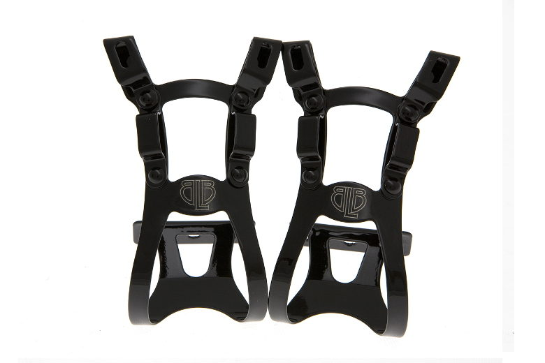 BLB Steel DB/DG Toe Clips black