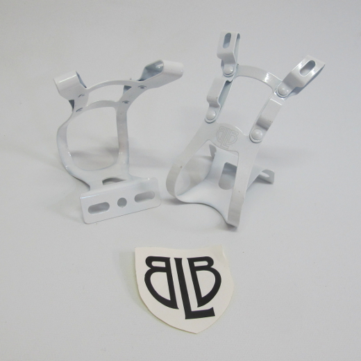 BLB Steel DB/DG Toe Clips white
