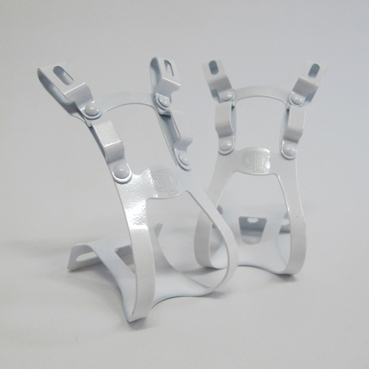 BLB Steel DB/DG Toe Clips white