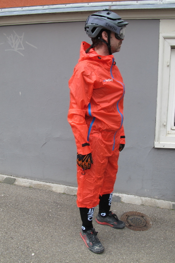 Dirtlej Dirtsuit Light Edition rot/orange