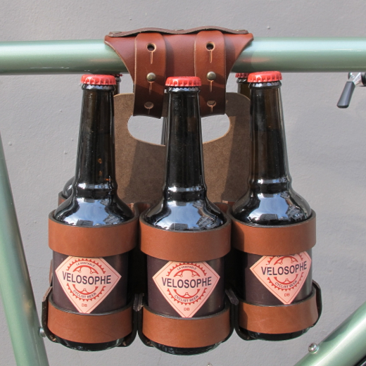 Bicycle Beer Combo with 6-Pack Frame Cinch