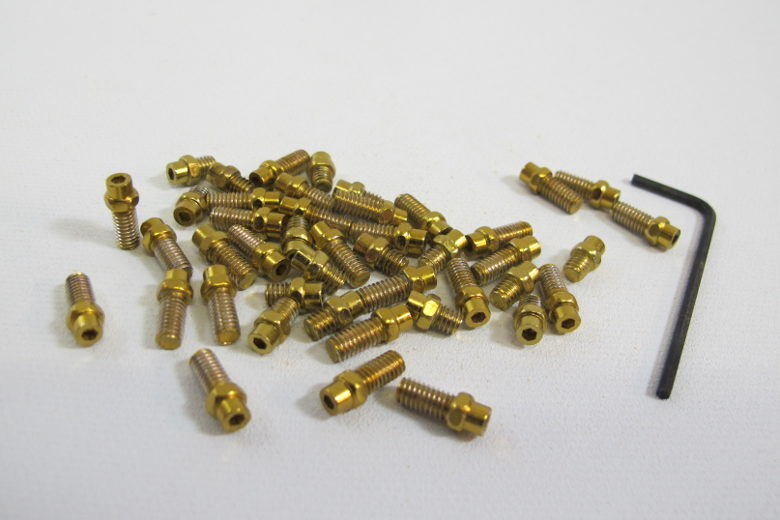DMR Vault Flip Pins gold
