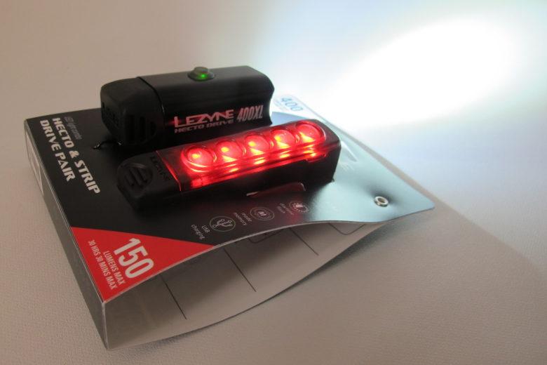 LEZYNE Hecto Drive 400XL / Strip Pair Black