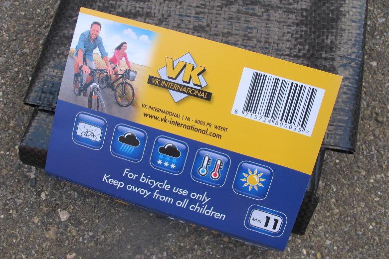 VK Fahrradschutzhülle ECO