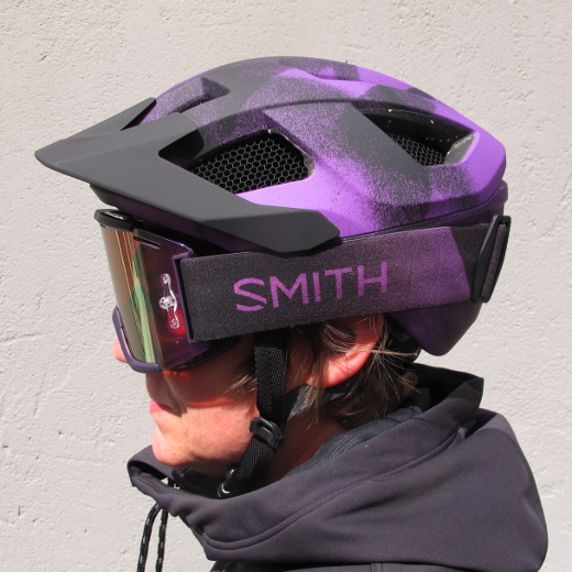 Smith Session Violet Burst Mips
