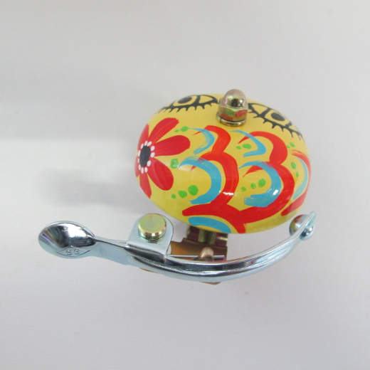 Crane Bell Co. Handpainted Suzu Mika Chan yellow