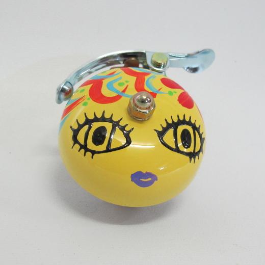 Crane Bell Co. Handpainted Suzu Mika Chan yellow