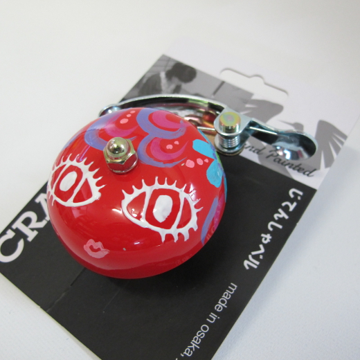 Crane Bell Co. Handpainted Suzu Mika Chan red