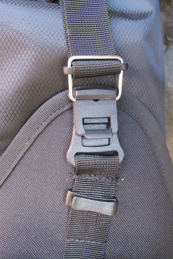 Restrap – Saddle Bag Holster with Dry Bag – black/orange – 14L
