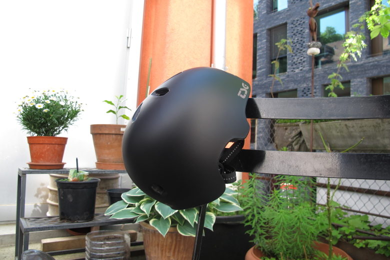 TSG Meta Solid Color Satin black
