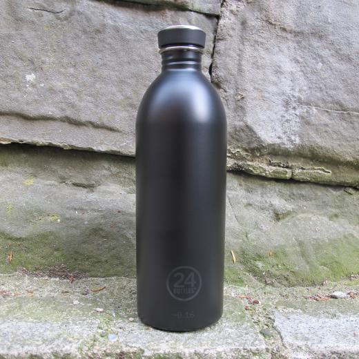 24 Bottles – Urban 1000 ml Black