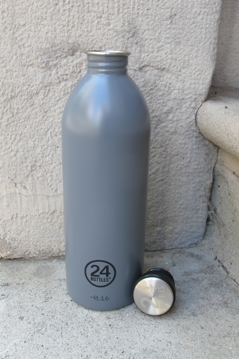 24 Bottles – Urban 1000 ml Gray