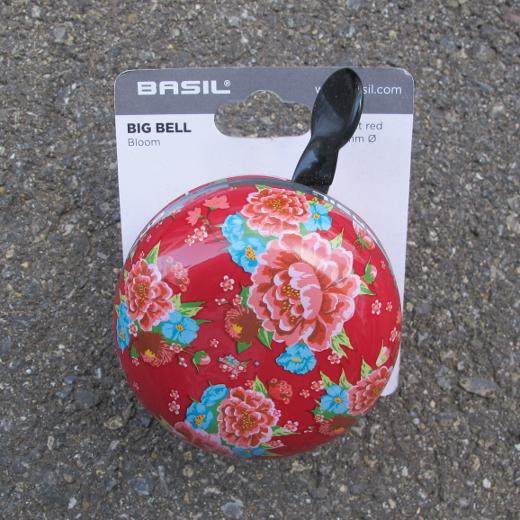 Basil Big Bell Bloom Scarlet Red