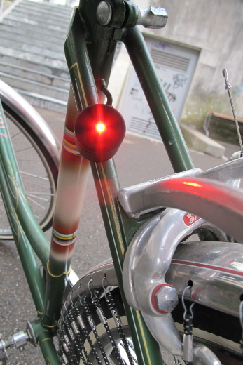 Palomar – Lucetta Magnetic Bike Lights – Schwarz