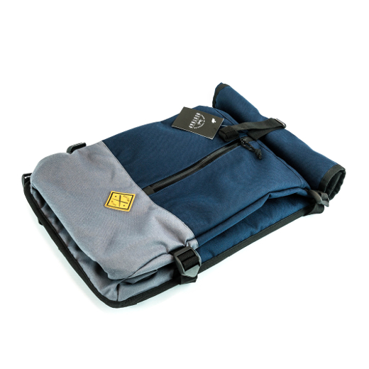 Restrap Commute Backpack – Grey/Navy