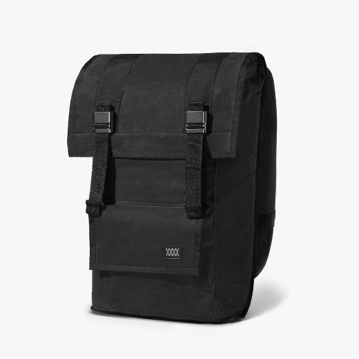 Mission Workshop The Sanction – Waxed Canvas – black
