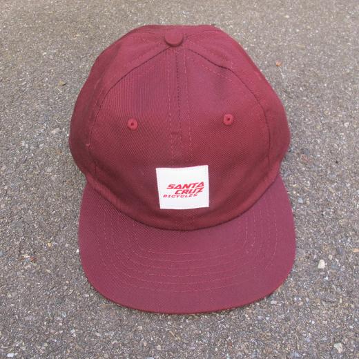 Santa Cruz Wrigley Hat Burgundy