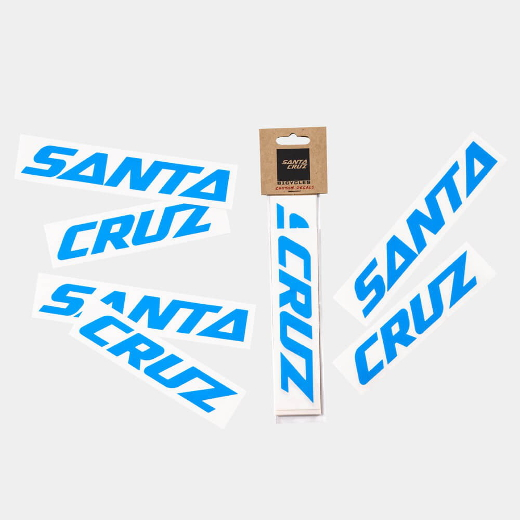 Santa Cruz Custom Downtube Decal