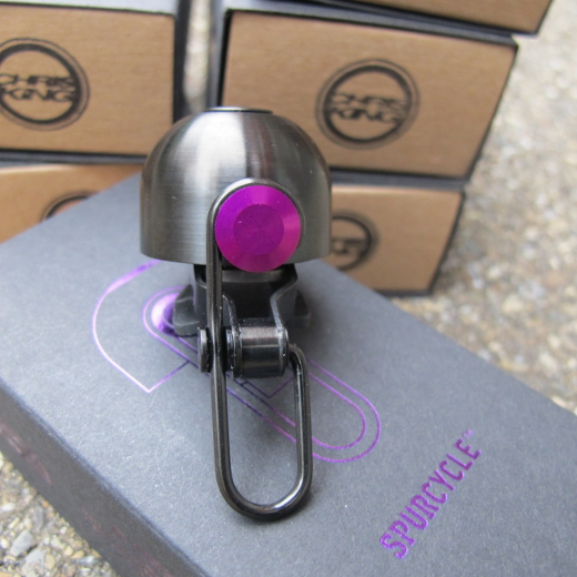 Chris King X Spurcycle – violet and matte bourbon LTD