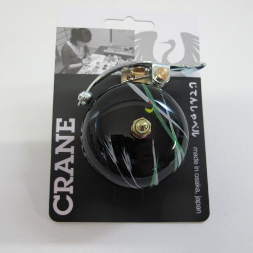 Crane Handpainted Suzu Bell Hotaru