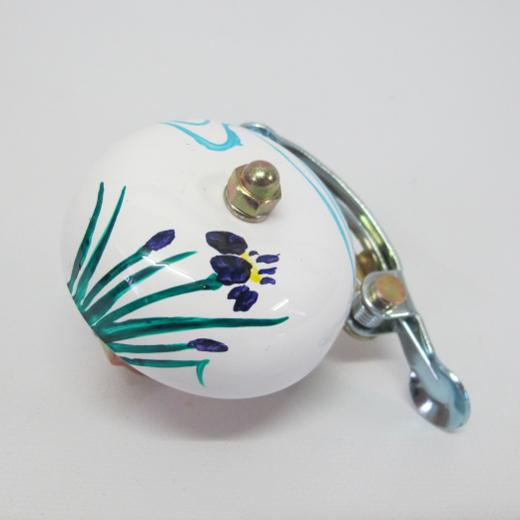 Crane Handpainted Suzu Bell Hana
