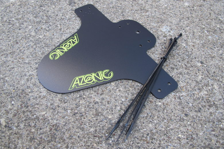 AZONIC: Splatter_Fender black/neonyellow