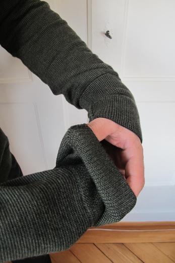 Pelago Merino Sweater Men Moss