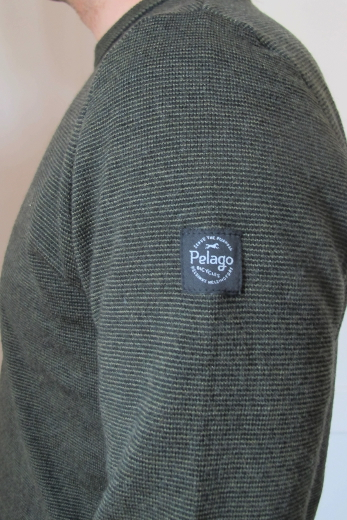 Pelago Merino Sweater Men Moss