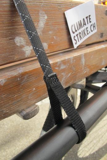 ROK Straps Commuter schwarz/reflektierend