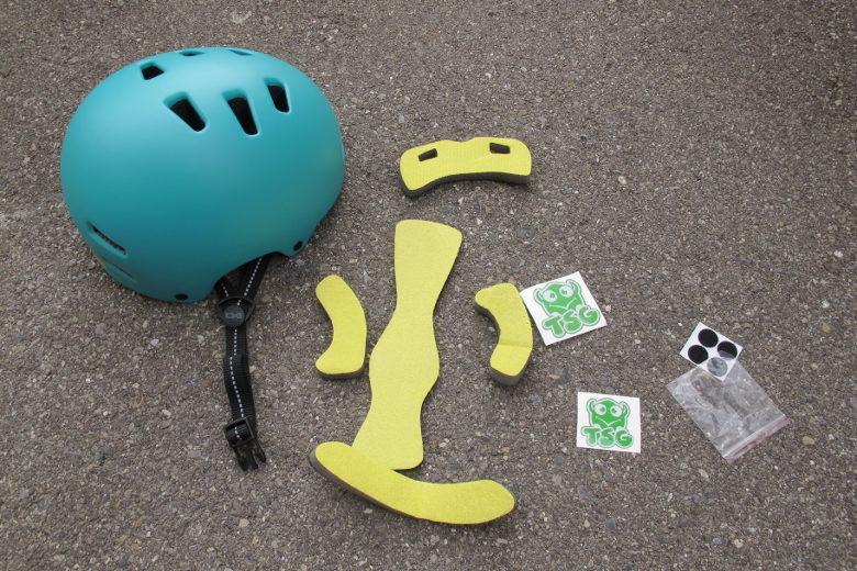 TSG Nipper Mini satin cauma green
