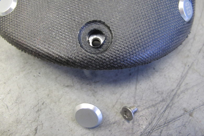 Brooks Cambium rivet and bolt