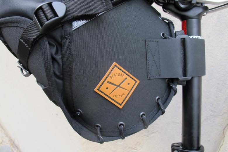 Restrap – Saddle Bag Holster with Dry Bag – black/black – 14L