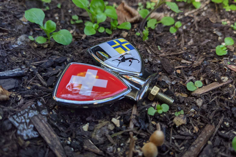 Schutzblech-Embleme