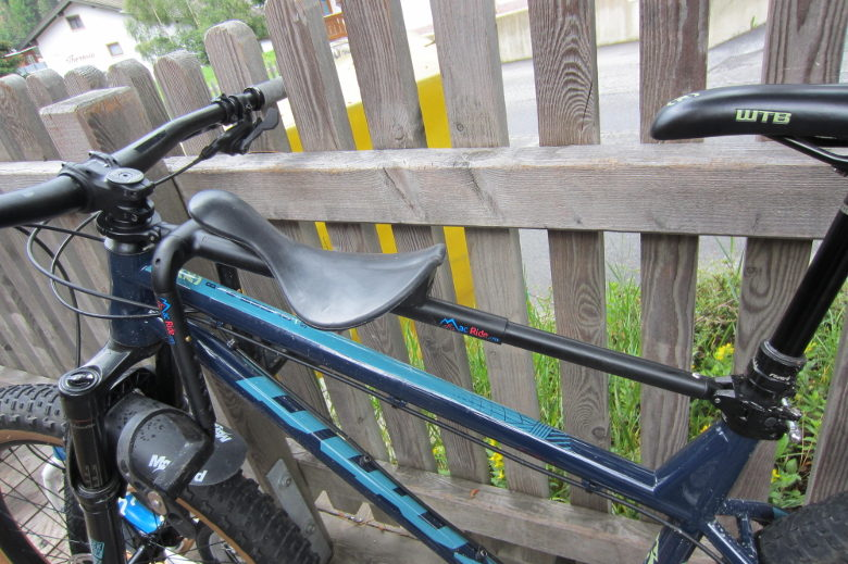 Mac Ride Bikeseat black