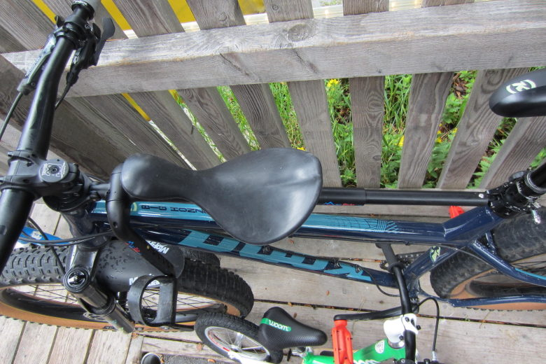 Mac Ride Bikeseat black