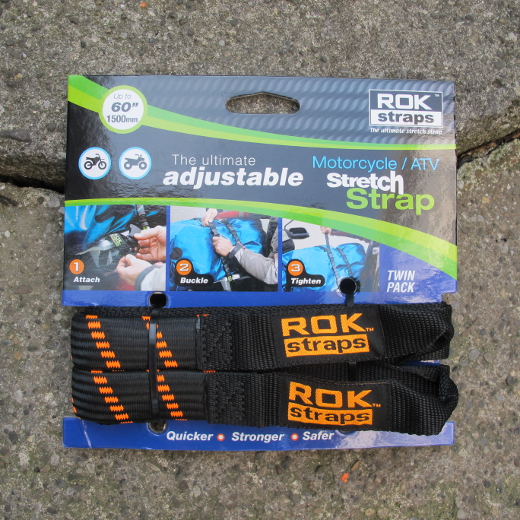 ROK Motorcycle Strap black/neonorange